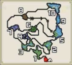 モンハン孤島マップ