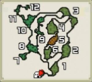モンハン森丘マップ