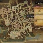 古代樹の森モンハンワールドマップ