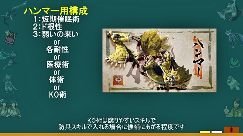 全14武器別オススメの食事スキル組み合わせ モンハンライズMHRise